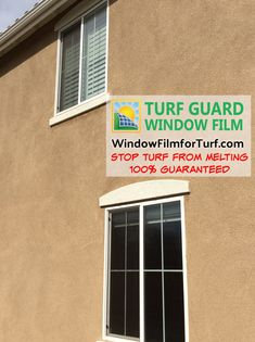 Turf Guard Window Film is applied to the exterior of your windows and will not reduce how much UV or IR light the windows reject, so your home will still remain cooler and protected from sun damage, now simply with added protection against sun glare bouncing off the outside of the panes. Bounce Off, Window Reflection, Traditional Windows, Window Types, Screen Film, Artificial Turf, Window Film, Vinyl Siding, Natural Light