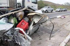 RN - Acidente com carro e caminhão deixa dois mortos na BR 304