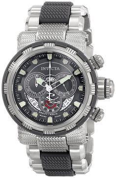 Invicta Mens Reserve Capsule Swiss Made Chronograph Two Tone Bracelet Watch NEW