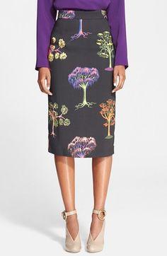 Stella McCartney Print Pencil Skirt #Nordstrom