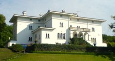 """Solliden Palace, on Oland Island off the southern coast of Sweden. Solliden is the summer residence of the Swedish Royal Family. Designed by architect Torben Grut  in the """"Italian style"""" for Crown Princess Viktoria in 1906, King Carl XVI inherited it upon the death of his great-grandfather, King Gustav V in 1950."""