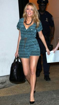 Blake Lively jumper shorts