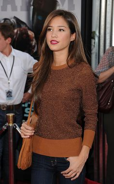Kelsey Chow at the Real Steel premiere! She looks amazingly perfect.
