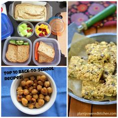 Top 10 Recipes for Back-To-School and Tips for Packing School Lunches