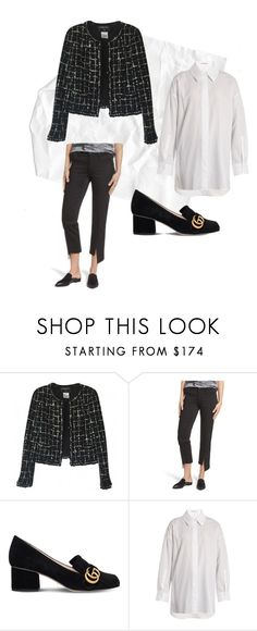 Chanel by myky-vu on Polyvore featuring Acne Studios, Chanel, Parker Smith and Gucci
