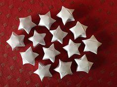 Bellas bedrifter: Buttede mini-origami-stjerner...
