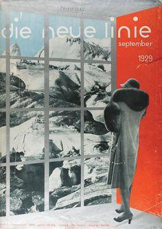 Herbert Bayer and Laszlo Moholy-Nagy