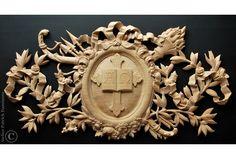 kunstschrijnwerk houtsnijwerk op maat buitendeuren exclusieve deuren huisdeuren met snijwerk bovenlicht snijraam Houtsnijder ornamentsnijder ornamentist Patrick Damiaens