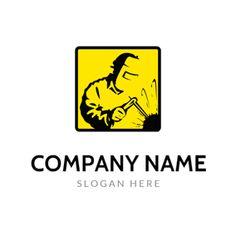 Welder and Welding Equipment logo design Custom Logo Design, Custom Logos, Welding Logo, Carpenteria, Stylish Fonts, Welding Equipment, Online Logo, Text Fonts, How To Make Logo