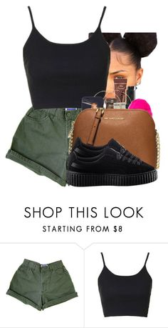 """038"" by heroinmother ❤ liked on Polyvore featuring Topshop and Puma"