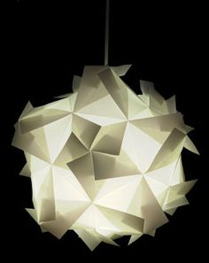 No, this is no Origami, but maybe there is a way to make a modular origami globe very close to it