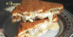 Ancora un bocconcino ambito e prelibato della rosticceria siciliana: Il crostino farcito con besciamella e prosciutto!