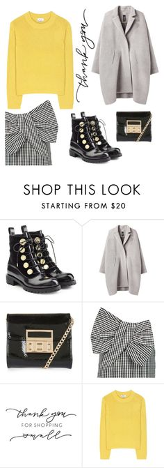 """""""thank you"""" by janesmiley ❤ liked on Polyvore featuring Alexander McQueen, Zero + Maria Cornejo, Topshop, Marc by Marc Jacobs and Acne Studios"""
