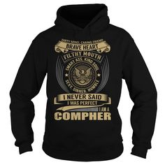 COMPHER Last Name, Surname T-Shirt