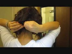 ▶ Long hair to short hair without scissors - YouTube