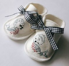 Bluebird Buddies Crib Shoes - inspiration
