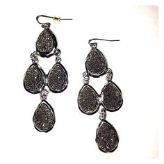 Statement drops Bold statement fish hook dangles Independent designer Jewelry Earrings