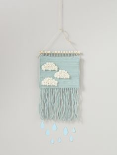 Poetic woven wall hanging | Cyrillus