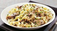 Looking for a classic French dinner? Then check out this delicious noodles and mushroom stroganoff made using Gold Medal® all-purpose flour – ready in 15 minutes.