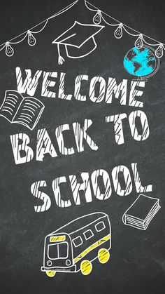 Back to school sketch art. Class Design, School Design, Back To School Wallpaper, Blackboard Art, Classroom Board, Blackboards, Cellphone Wallpaper, Live Wallpapers, Comic