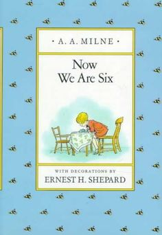 Us Two from Now We Are Six by A. A. Milne - the best wedding readings in children's books