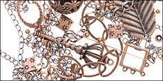 Antique Copper   Auntie's Beads