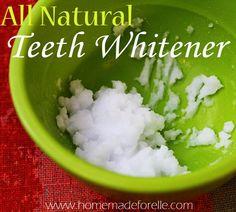 Homemade Teeth Whitening Ideas   DIY Recipe for Natural Teeth Whitening