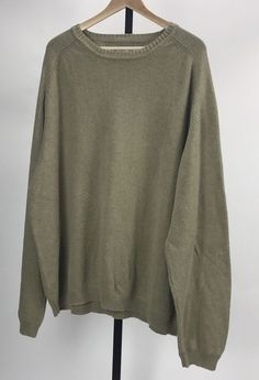 Tommy Bahama Men's Tan Long Sleeve 100% Cotton Sweater Size XL  | eBay