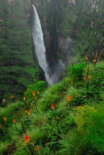 Simien Mountains in Ethiopia.