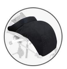 두꺼워 따뜻한 다리 커버 3 색상 블랙 footmuff 안티 감기는 커버 아기 유모차