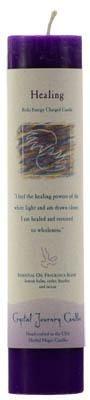 Healing Reiki Charged Pillar Candle