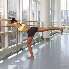 Ever wonder how ballerinas get so long and lean? This #ballet #workout is how!   health.com