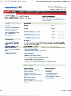 Bank Of America Statement Template New Bank Statement Bank America In 2019 – Business Template Example America Online, Bank Of America, Bank Statement, Financial Statement, Money Template, Templates, Chase Bank Card, Free Professional Resume Template, Resume Template Free