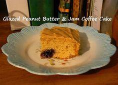 Glazed Peanut Butter & Jam Coffee Cake | Bonham Business