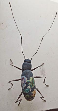 Les insectes en textile de Mister Finch (http://mynameisfinch.blogspot.fr/)