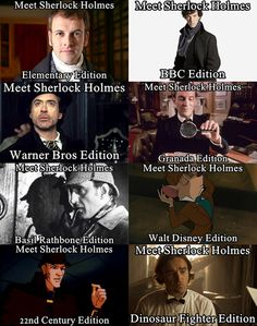 Pin all the Sherlocks!
