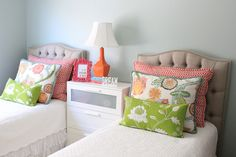 I'm loving this color scheme.BDG Style: Updated Girls Room, My Weekend & eDesign