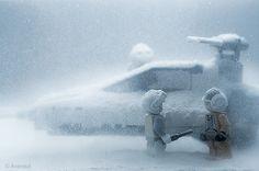 Finnish Illustrator's Lego Star Wars -Art    Photographer: Vesa Lehtimäki  