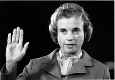 Sandra Day O'Connor, first female Supreme Court Justice
