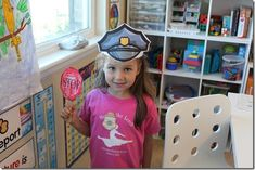 police activities and printables (for community helpers unit)