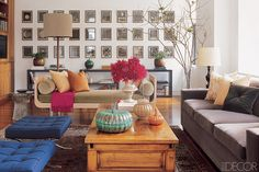 How to decorate a long wall with interest! #Skysong #Scottsdale #SkysongApartments