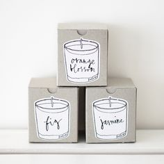 lovely votive candles * Neëst