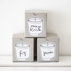 lovely votive candles * Neëst