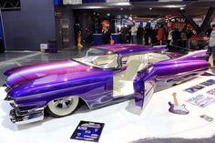 Beautiful Blue Lead Sled by DrivenByChaos on DeviantArt Cadillac Eldorado, Custom Paint Jobs, Custom Cars, Custom Wheels, Nevada, Chevy Hot Rod, Las Vegas, Rockabilly Cars, Lead Sled