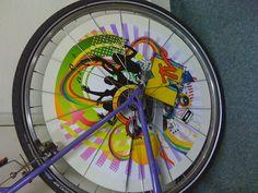 Branding fietswiel MTV pimp my ride