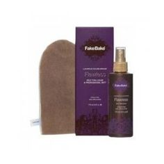 Fake Bake Flawless Self-Tan Liquid - 6oz by Tomas. $23.96. Fake Bake Flawless Self-Tan Liquid is a fast-drying and non-sticky formula that combines ease of application with intense professional colour development. Flawless is applied with a professional mitt (INCLUDED) in effortless gliding strokes for a perfectly even tan. The dual function cosmetic bronzer assists in making the application even easier (shows-where-it-goes) providing an instant golden tan. The fast ...