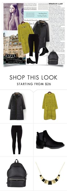 """zaful.com lkid=5695  (76)"" by mell-2405 ❤ liked on Polyvore featuring Tiffany & Co., New Look, Yves Saint Laurent and Monet"