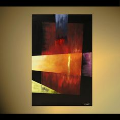 The Gift Abstract art by Osnat Tzadok
