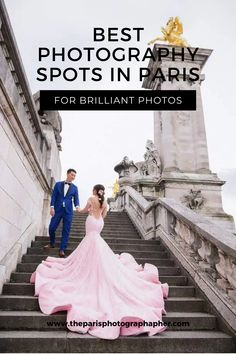This article contains a list of the best photography spots in Paris. This city is probably the most photographed in the world. Every street, every monument looks breathtaking. In this guide, we'll show you some of the best photography spots in Paris. If you have booked a Paris photo shoot with us, then you will find valuable tips about which place looks better at different times of the day and in different season. #engagementphotographerparis #howtheyasked #photographersparis…