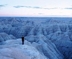 Badlands National Park, one of our favorite places in western South Dakota. Read more: http://www.midwestliving.com/travel/south-dakota/black-hills/highlights-of-south-dakotas-black-hills-and-badlands/